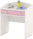 Стол для детского сада Славянская столица ДУ-СИ13 (белый/розовый) -