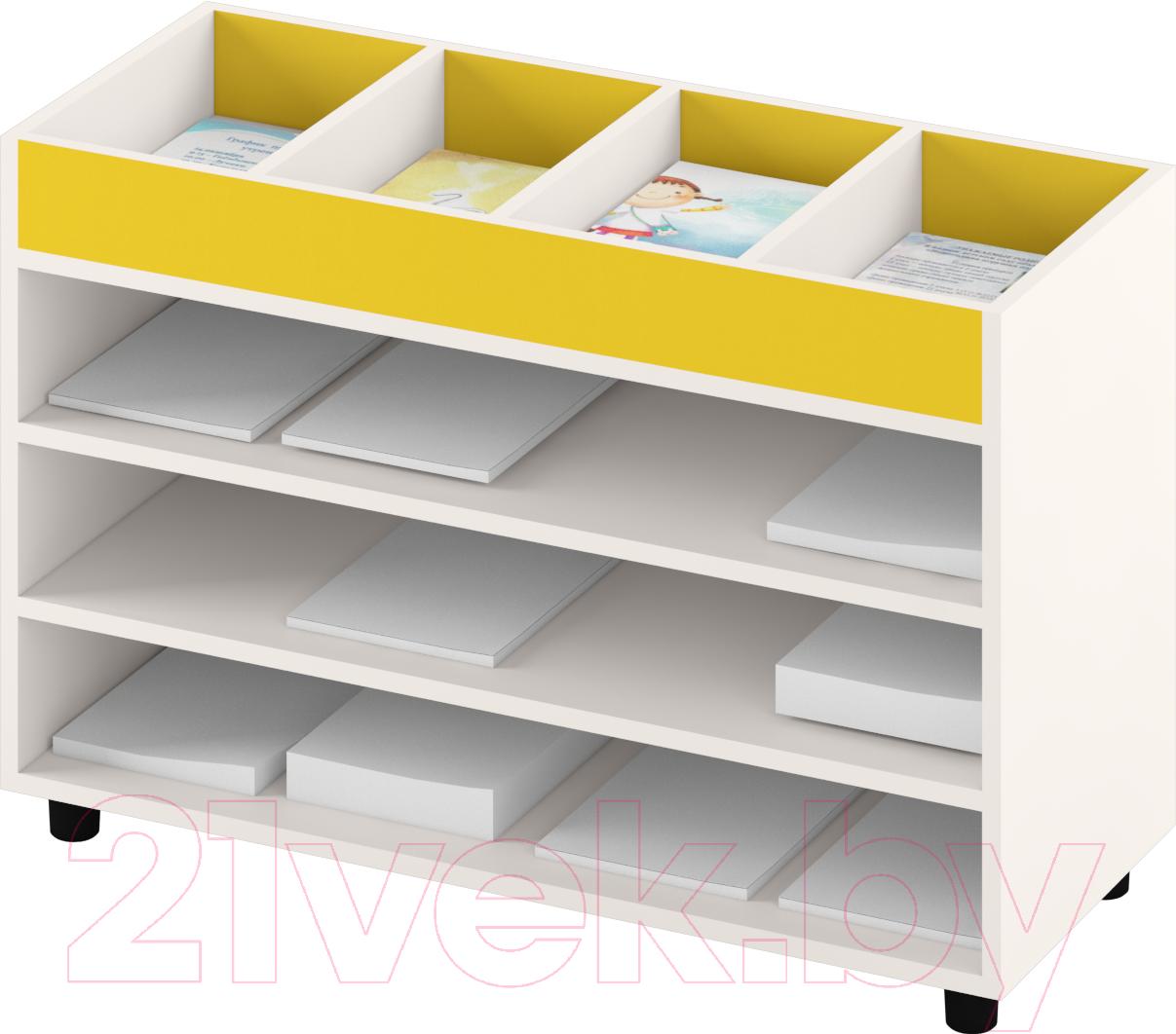 Купить Система хранения Славянская столица, ДУ-СМ5 (белый/желтый), Беларусь