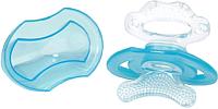 Прорезыватель для зубов BabyOno Силиконовый / 1008 (голубой) -