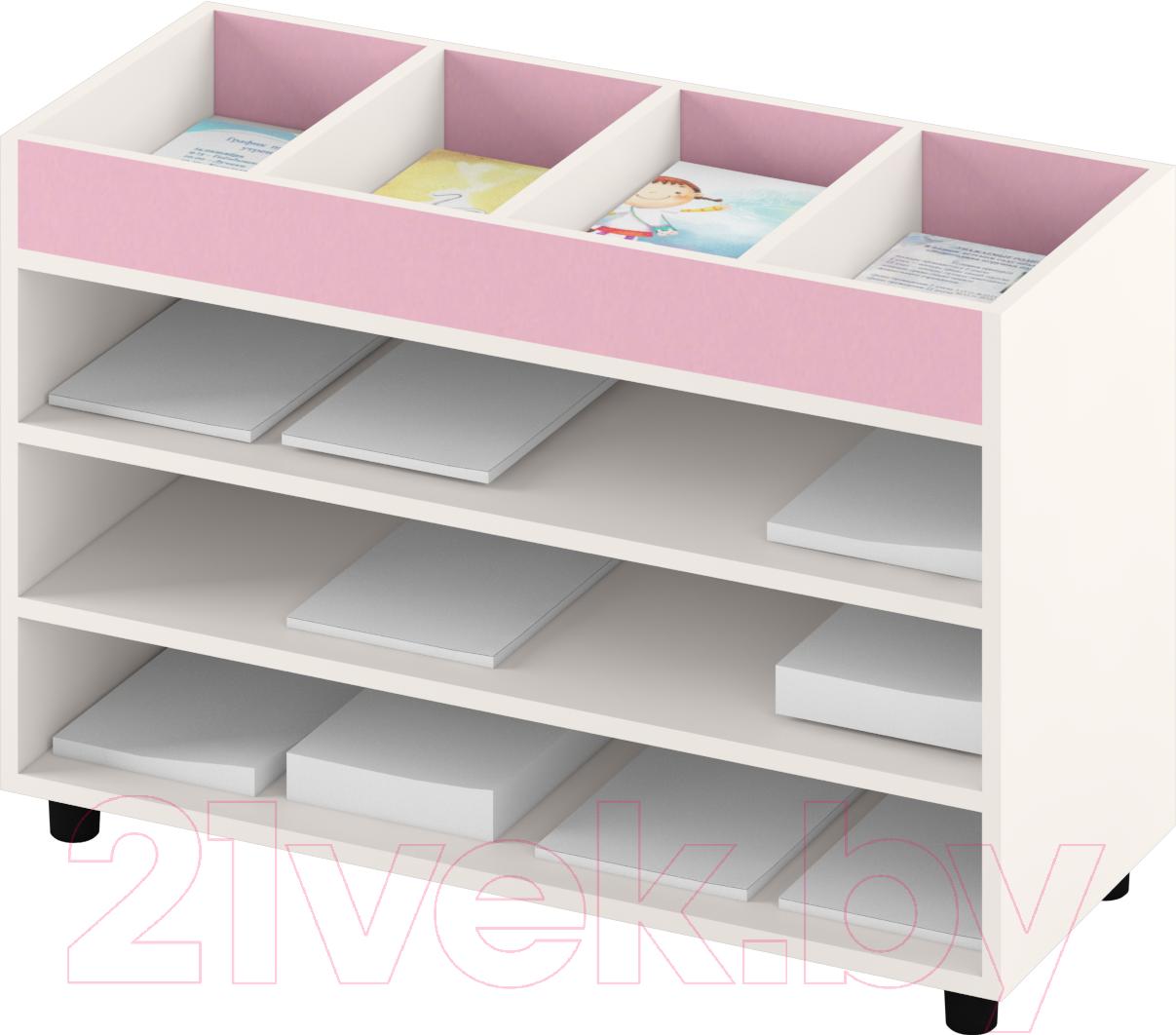 Купить Система хранения Славянская столица, ДУ-СМ5 (белый/розовый), Беларусь
