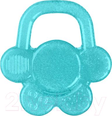Прорезыватель для зубов BabyOno Цветочек / 1018 (синий)