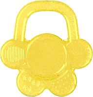 Прорезыватель для зубов BabyOno Цветочек / 1018 (желтый) -