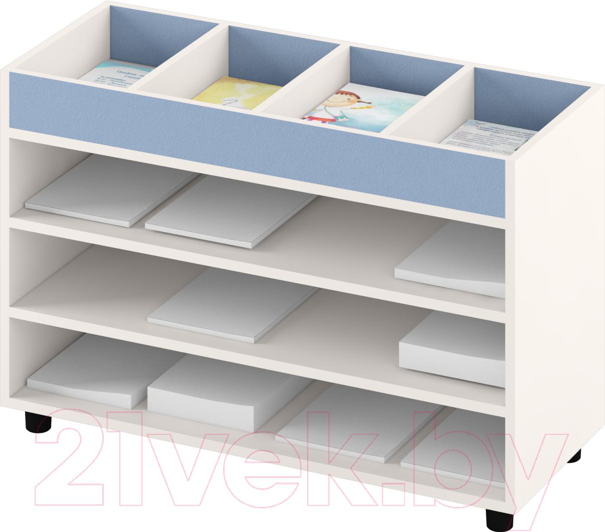 Купить Система хранения Славянская столица, ДУ-СМ5 (белый/синий), Беларусь