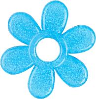 Прорезыватель для зубов BabyOno Цветок / 1060 (синий) -