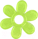 Прорезыватель для зубов BabyOno Цветок / 1060 (зеленый) -