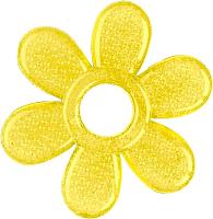 Прорезыватель для зубов BabyOno Цветок / 1060 (желтый) -