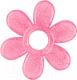 Прорезыватель для зубов BabyOno Цветок / 1060 (розовый) -