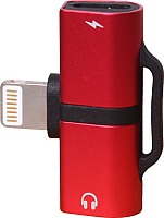 Кабель/переходник Volare Rosso Corta series LightningUSB / LightningUSB + LightningUSB (красный) -