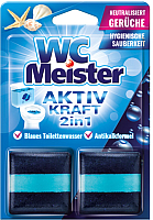 Чистящее средство для унитаза Wasche Meister Aktiv Kraft Океан 2 in 1 -
