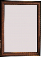 Зеркало BDC Decor W176-2 80x60 (темно-бордовый) -