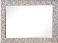 Зеркало BDC Decor Q582-27 145x70 (серебристый) -
