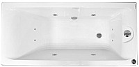 Ванна акриловая Riho Qwatry 150x70 / E101507002919kmdl14 (c гидромассажем M) -