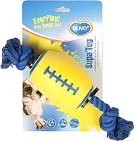 Игрушка для животных Duvo Plus Plus Supa Tug Ball Rope / 1714601/DV (желтый) -