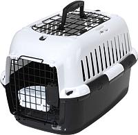 Переноска для животных EBI Adventurer / 50 661-174586 (черный/белый) -