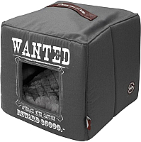 Домик для животных EBI D/D Wanted / 671-432327 (серый) -