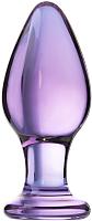 Пробка интимная Sexus Glass / 912014 (фиолетовый) -