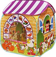 Детская игровая палатка Ching Ching Детский магазин CBH-32 (+ 100 шаров, желтый) -
