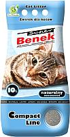 Наполнитель для туалета Super Benek Compact (10л) -