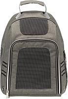 Рюкзак-переноска Trixie Dan 28850 (серый) -