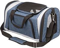 Сумка для животных Trixie Sean 28848 (серый/синий) -