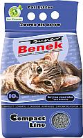 Наполнитель для туалета Super Benek Compact Морской бриз (10л) -