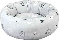Лежанка для животных Trixie Mini 37487 (серый) -