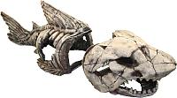 Декорация для аквариума Deksi Скелет рыбы №999 -