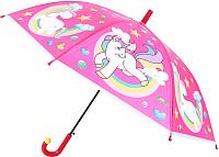 Зонт-трость Bradex Единорог DE 0497 (розовый) -