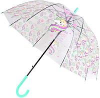 Зонт-трость Bradex Единорог DE 0500 (голубой) -