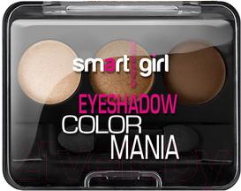 Купить Палетка теней для век Belor Design, Smart Girl Color Mania тон 32, Беларусь, коричневый