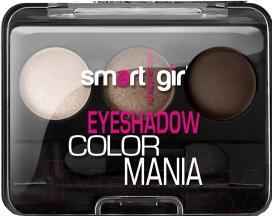 Купить Палетка теней для век Belor Design, Smart Girl Color Mania тон 34, Беларусь, белый