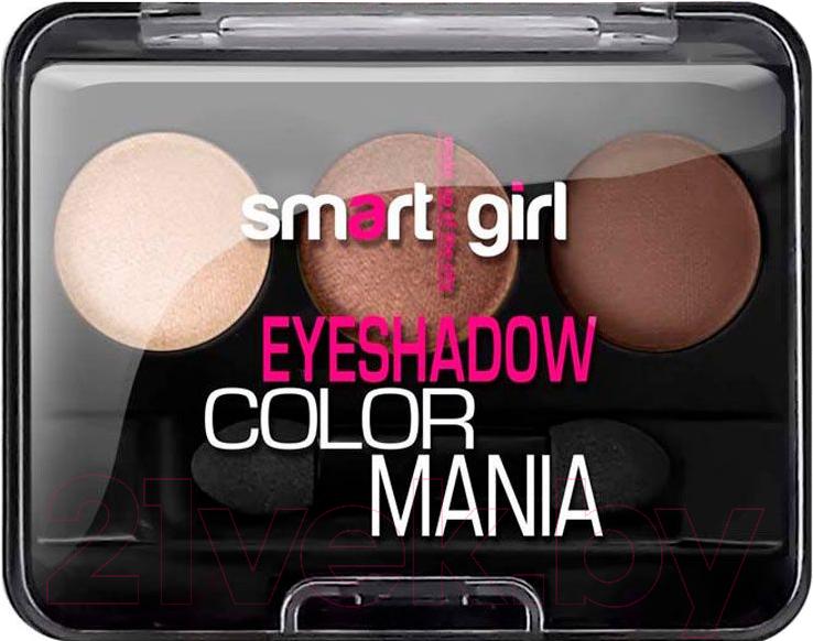 Купить Палетка теней для век Belor Design, Smart Girl Color Mania тон 36, Беларусь, коричневый