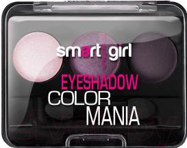 Купить Палетка теней для век Belor Design, Smart Girl Color Mania тон 37, Беларусь, фиолетовый