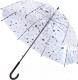 Зонт-трость Bradex Коты SU 0137 (прозрачный) -