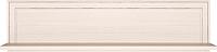 Полка Ижмебель Венеция 29 (бодега светлый/накладной профиль) -