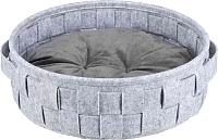 Лежанка для животных Trixie Lennie 38392 (серый) -