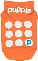 Футболка для животных Puppia Emmy с капюшоном / PARA-TS1509-OR-L (оранжевый) -