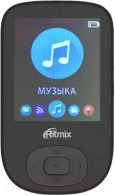 MP3-плеер Ritmix RF-5100BT (16Gb, черный)