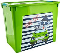Контейнер для хранения Алеана Smart Box My Car 123099 (оливковый/бирюзовый) -