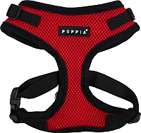 Шлея Puppia Ritefit Harness / PAJA-AC617-RD-S (красный) -