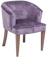 Стул ТехКомПро Канна 101 (нога 116/тон 9/ткань Iris lavander) -