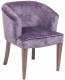 Кресло ТехКомПро Канна 101 (нога 116/тон 9/ткань Iris lavander) -