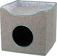 Домик-когтеточка Trixie Kaya 36322 (серый) -