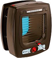 Электоронная дверца для животных Ferplast Swing Microchip / 72090012 (коричневый) -