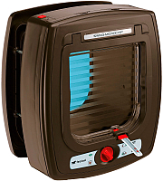 Электронная дверца для животных Ferplast Swing Microchip / 72090012 (коричневый) -