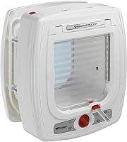 Электоронная дверца для животных Ferplast Swing Microchip / 72090011 (белый) -