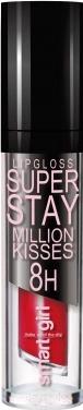 Купить Блеск для губ Belor Design, Smart Girl Million Kisses тон 207, Беларусь, красный
