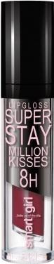 Купить Блеск для губ Belor Design, Smart Girl Million Kisses тон 208, Беларусь, коричневый