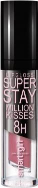 Купить Блеск для губ Belor Design, Smart Girl Million Kisses тон 212, Беларусь, розовый