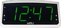 Радиочасы Miru CR-1009 (белый) -